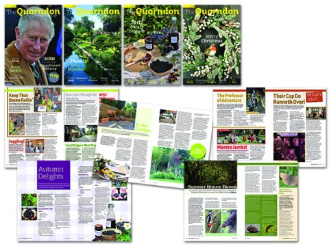 The Quorndon Magazine front covers